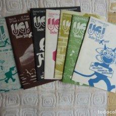 Coleccionismo de Revistas y Periódicos: UG! UNDERGUÍA LOTE 7 EJEMPLARES/ NºS 3, 4, 5, 6, 7, 8 Y 9. Lote 187516933