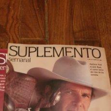 Coleccionismo de Revistas y Periódicos: LOTE 18 REVISTAS SUPLEMENTO SEMANAL. Lote 187528401
