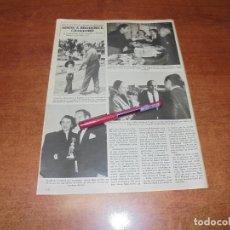 Coleccionismo de Revistas y Periódicos: CLIPPING 1986: BRODERICK CRAWFORD. Lote 187543301