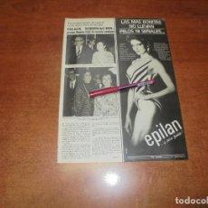 Coleccionismo de Revistas y Periódicos: CLIPPING 1986: OLGA XIRINACHS. Lote 187543398