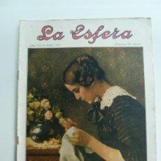 Colecionismo de Revistas e Jornais: REVISTA LA ESFERA Nº 331. 8 DE MAYO DE 1920. Lote 187625132