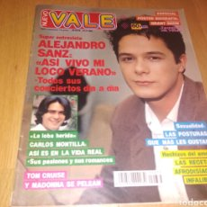 Coleccionismo de Revistas y Periódicos: REVISTA NUEVO VALE 1992 ALEJANDRO SANZ MADONNA CARLOS MONTILLA. Lote 187644122