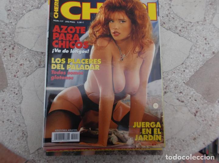 CHERI Nº 117, ESPAÑOLA , REVISTA EROTICA ,SOLO PARA ADULTOS (Coleccionismo - Revistas y Periódicos Modernos (a partir de 1.940) - Otros)