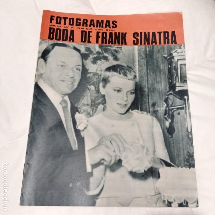 REVISTA FOTOGRAMAS 1966 / Nº 928 - FRANK SINATRA (Coleccionismo - Revistas y Periódicos Modernos (a partir de 1.940) - Otros)