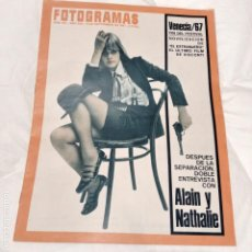 Coleccionismo de Revistas y Periódicos: REVISTA FOTOGRAMAS 1967 / Nº 987. Lote 188408475