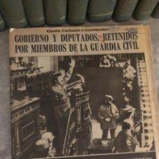 Coleccionismo de Revistas y Periódicos: PERIÓDICO ABC DEL 24 DE FEBRERO DE 1981. EL GOLPE DE ESTADO DE TEJERO. Lote 188425133