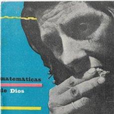 Coleccionismo de Revistas y Periódicos: == PA385 - FOLLETO PPC - MATEMATICAS DE DIOS. Lote 188581011