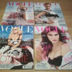 Coleccionismo de Revistas y Periódicos: LOTE DE 4 REVISTAS VOGUE DE 2009. Lote 188698305
