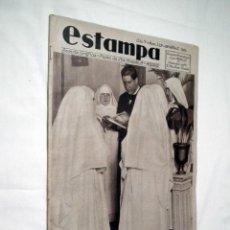 Coleccionismo de Revistas y Periódicos: REVISTA ESTAMPA NUMERO 329 (ABRIL DE 1934). Lote 188740128