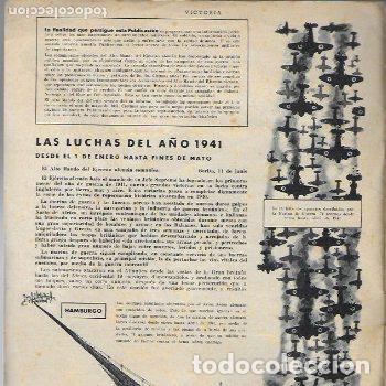 Coleccionismo de Revistas y Periódicos: ( Revista alemana segunda guerra mundial ) Victoria. año 1 núm. 1. julio 1941. 27x21cm. 16 p. - Foto 3 - 188794395