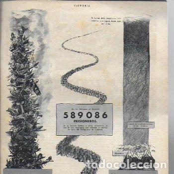 Coleccionismo de Revistas y Periódicos: ( Revista alemana segunda guerra mundial ) Victoria. año 1 núm. 1. julio 1941. 27x21cm. 16 p. - Foto 4 - 188794395
