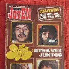 Coleccionismo de Revistas y Periódicos: REVISTA MUNDO JOVEN Nº 244 1973 THE BEATLES. Lote 188814696