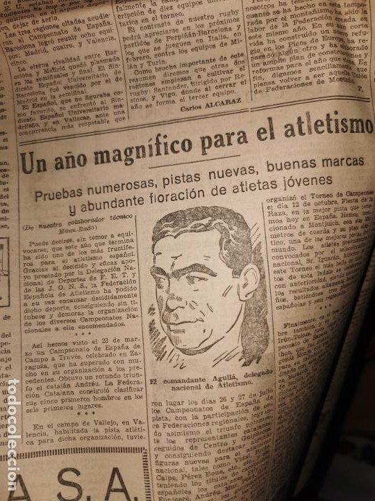 Coleccionismo de Revistas y Periódicos: Periodico Arriba numero 859 Jueves 1 de Enero de 1942 - Foto 12 - 188819920