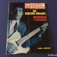 Coleccionismo de Revistas y Periódicos: MUNDO CRISTIANO 1968 TOM JONES LA RIOJA EL CIRCO DE LOS MUCHACHOS ANUNCIOS DE LA EPOCA LA LECHERA . Lote 189189961