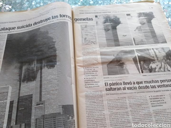 Coleccionismo de Revistas y Periódicos: Periodico Levante Torres Gemelas - Foto 3 - 84616842