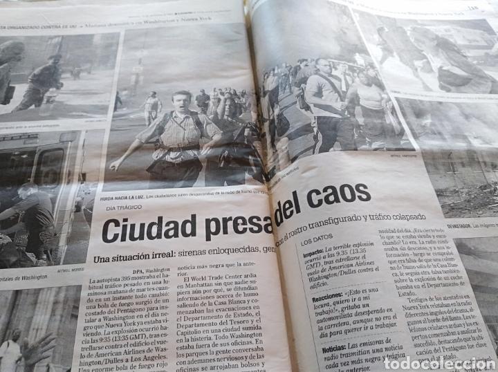 Coleccionismo de Revistas y Periódicos: Periodico Levante Torres Gemelas - Foto 4 - 84616842