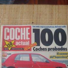 Coleccionismo de Revistas y Periódicos: REVISTA COCHE ACTUAL ESPECIAL NUMERO 100 MARZO 1990. Lote 189194120