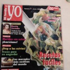 Coleccionismo de Revistas y Periódicos: MI FAMILIA Y YO NÚMERO 7 1990 ROCIO JURADO 7 FOTOS CON ARTÍCULOS. .MERCADOS EXÓTICOS MUNUS. Lote 189249125
