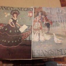 Coleccionismo de Revistas y Periódicos: DOS REVISTAS BLANCO Y NEGRO DE 1922. Lote 189375511