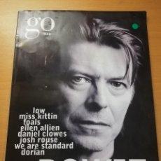 Coleccionismo de Revistas y Periódicos: REVISTA GO MAG Nº 139 (MARZO 2013) DAVID BOWIE. Lote 189476738