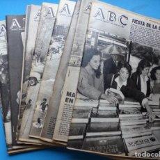 Coleccionismo de Revistas y Periódicos: ABC, 13 ANTIGUAS REVISTAS, AÑOS 1980 - VER FOTOS ADICIONALES. Lote 189570581