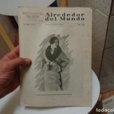 Coleccionismo de Revistas y Periódicos: REVISTA ALREDEDOR DEL MUNDO MADRID 12 DE FEBRERO DE 1927. Lote 189579532
