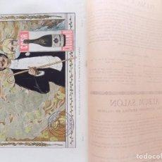 Coleccionismo de Revistas y Periódicos: LIBRERIA GHOTICA. BELLA REVISTA MODERNISTA PLUMA Y LAPIZ. NÚM. 5.DICIEMBRE 1900. CARTEL LITOGRÁFICO. Lote 189592697