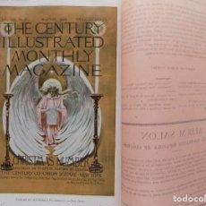 Coleccionismo de Revistas y Periódicos: LIBRERIA GHOTICA. BELLA REVISTA MODERNISTA PLUMA Y LAPIZ.NÚM.8.DICIEMBRE 1900.CON CARTEL LITOGRÁFICO. Lote 189593043
