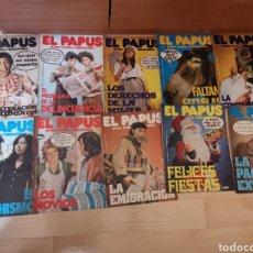 Coleccionismo de Revistas y Periódicos: REVISTA EL PAPUS 1973 10X NÚMEROS DEL 1 AL 11 (FALTA EL 5). Lote 189699138