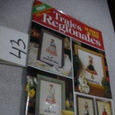 Coleccionismo de Revistas y Periódicos: ANTIGUA REVISTA TRAJES REGIONALES EN PUNTO DE CRUZ. Lote 189700001