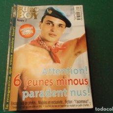 Colecionismo de Revistas e Jornais: EURO BOY Nº 17, REVISTA EROTICA DE HOMBRES ,SOLO PARA ADULTOS ,FRANCESA. Lote 189724537