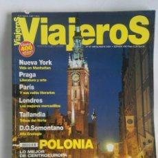 Coleccionismo de Revistas y Periódicos: REVISTA VIAJEROS 2001 POLONIA PARÍS PRAGA SOMONTANO. Lote 189793103