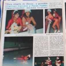 Coleccionismo de Revistas y Periódicos: CARMEN CERVERA PAULA PATTIER TITA. Lote 85036712