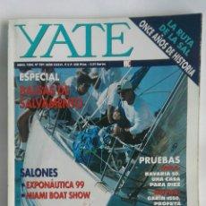 Coleccionismo de Revistas y Periódicos: REVISTA YATE N° 391 ESPECIAL BALSAS DE SALVAMENTO. Lote 189898326