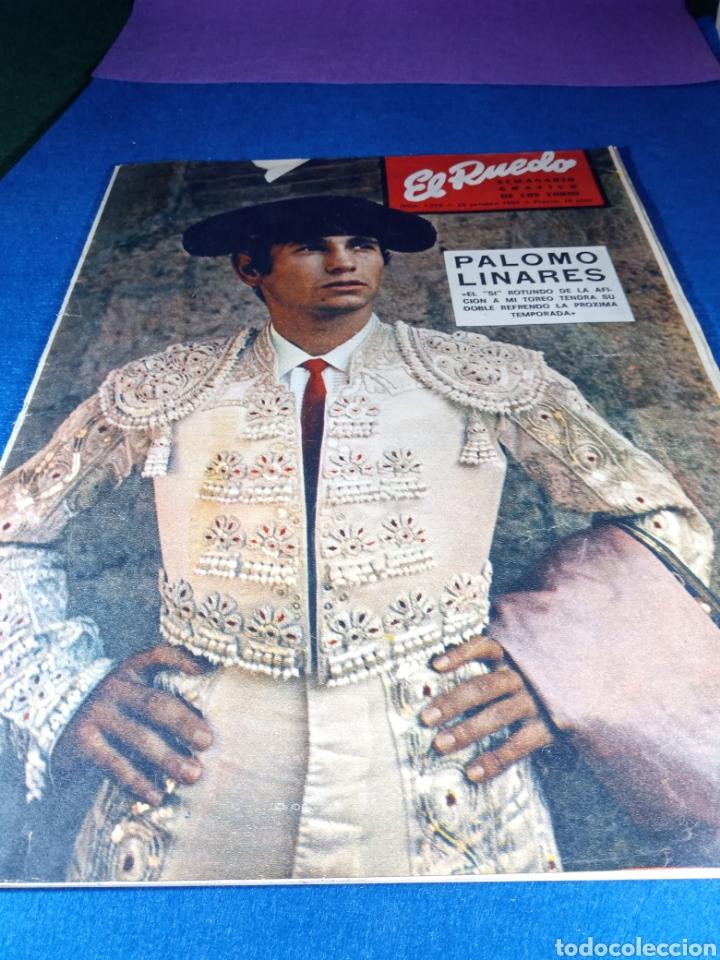 Coleccionismo de Revistas y Periódicos: Palomo linares. Revista el Ruedo - Foto 2 - 189962535
