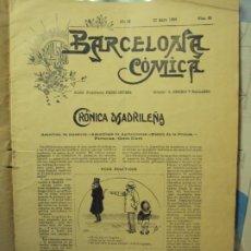 Collectionnisme de Revues et Journaux: BARCELONA CÓMICA. Lote 189967422