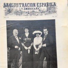Colecionismo de Revistas e Jornais: ILUSTRACIÓN 1913. VALLADOLID. RUEDA. SIMANCAS. LEON. MADRID VIEJO. LONDRES. Lote 189988940