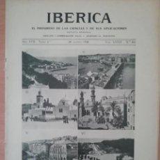 Coleccionismo de Revistas y Periódicos: IBERICA Nº841 1930 COSTUMBRES DE LA MUJER CAMPESINA VALENCIANA. Lote 190055120