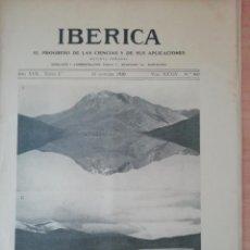 Coleccionismo de Revistas y Periódicos: IBERICA Nº847 1930 INAGURACION DEL PANTANO PRINCIPE ALFONSO (PALENCIA). Lote 190055426