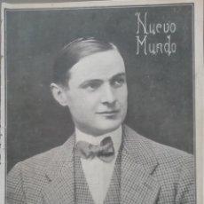 Coleccionismo de Revistas y Periódicos: NUEVO MUNDO AÑO 1908 Nº741 COMO CRECEN LOS PUEBLOS BILBAO DESDE 1442 A 1908. Lote 190073337