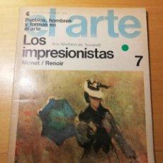 Coleccionismo de Revistas y Periódicos: LOS IMPRESIONISTAS. MONET / RENOIR (ANA WERTHEIN DE TROVARELLI) PUEBLOS, HOMBRES Y FORMAS EN EL ARTE. Lote 190081262