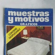 Coleccionismo de Revistas y Periódicos: MUESTRAS Y MOTIVOS NÚMERO ESPECIAL. Lote 190229427