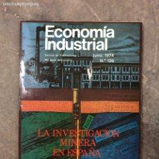 Colecionismo de Revistas e Jornais: ECONOMÍA INDUSTRIAL 1974. Lote 190311571