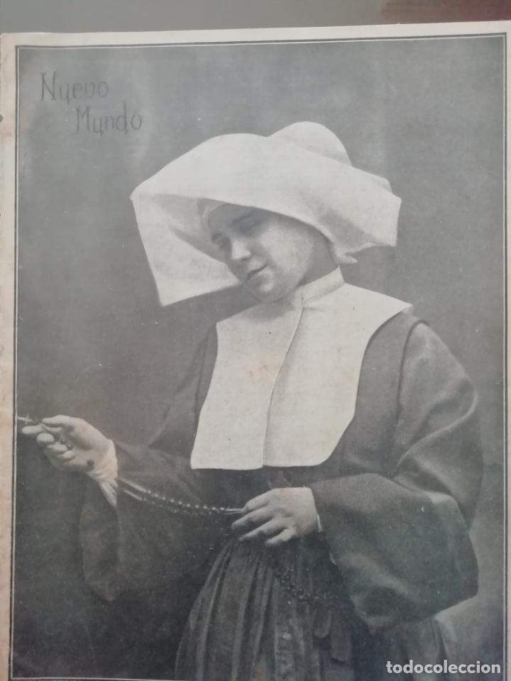 NUEVO MUNDO AÑO 1908 Nº777 BERMEO DESPUES DE LA GALERNA (Coleccionismo - Revistas y Periódicos Antiguos (hasta 1.939))