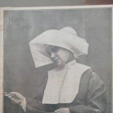 Coleccionismo de Revistas y Periódicos: NUEVO MUNDO AÑO 1908 Nº777 BERMEO DESPUES DE LA GALERNA. Lote 190352283