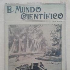 Coleccionismo de Revistas y Periódicos: EL MUNDO CIENTIFICO AÑO 1904 Nº209 EL CULTIVO DEL ALGODON EN BALEARES. Lote 190352686