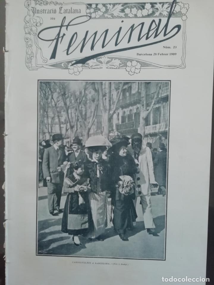 REVISTA FEMINAL Nº23 1909 (Coleccionismo - Revistas y Periódicos Antiguos (hasta 1.939))