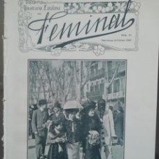 Coleccionismo de Revistas y Periódicos: REVISTA FEMINAL Nº23 1909. Lote 190356560