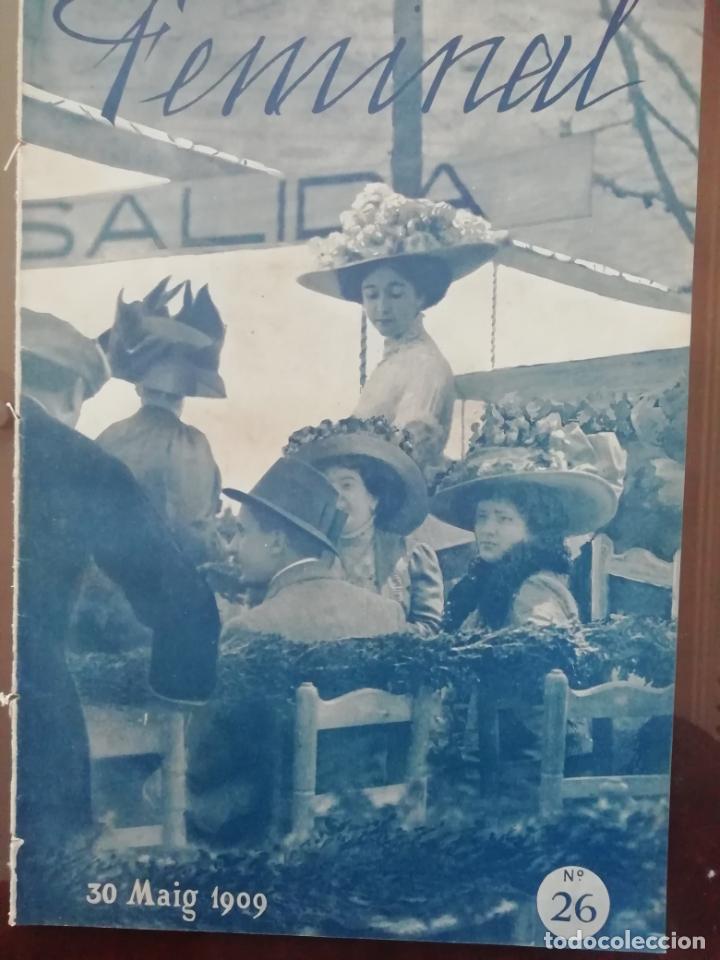 REVISTA FEMINAL Nº26 1909 (Coleccionismo - Revistas y Periódicos Antiguos (hasta 1.939))