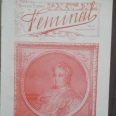 Coleccionismo de Revistas y Periódicos: REVISTA FEMINAL Nº25 1909. Lote 190356731